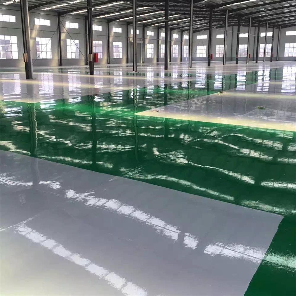 溶剂环氧树脂平涂地坪