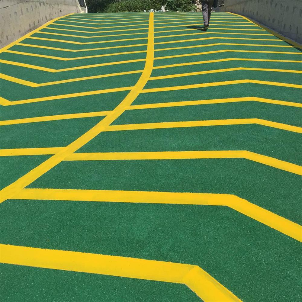 止滑车道坡道地坪